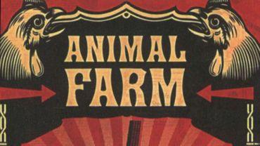 """La première édition de """"La ferme des animaux"""" de George Orwell date de 1945"""