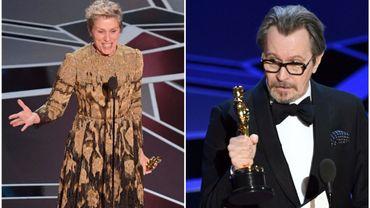 Oscars 2018: Frances McDormand et Gary Oldman oscarisés