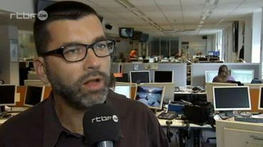 Manu Abramowicz, animateur du site Résistances.be.