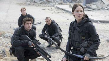 """""""Hunger Games: La révolte Partie 2"""" est toujours en tête"""