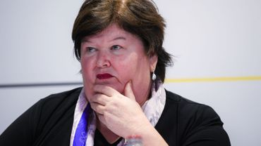 La ministre Maggie De Block ne communique plus qu'à distance.