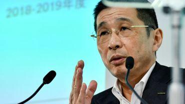 Le directeur général de Nissan, Hiroto Saikawa à Yokohama le 25 juillet 2019.