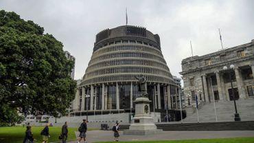 Le bâtiment du parlement de Nouvelle-Zélande, à Wellington
