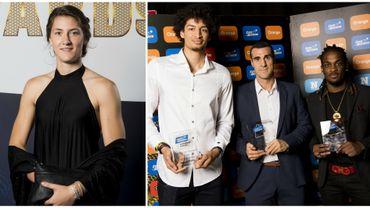 Laure Resimont joueuse belge de l'année, les Anversois trustent les prix