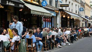 Réouverture des terrasses des cafés à Paris, le 2 juin 2020