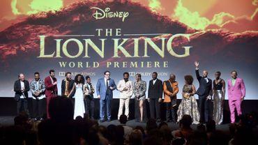 L'avant-première du Roi Lion aux USA, avec les voix originales