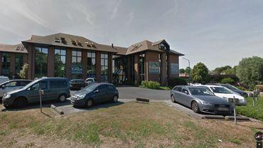 Les bureaux de l'entreprise à Braine-l'Alleud.