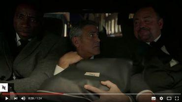 George Clooney en danger dans la nouvelle publicité Nespresso
