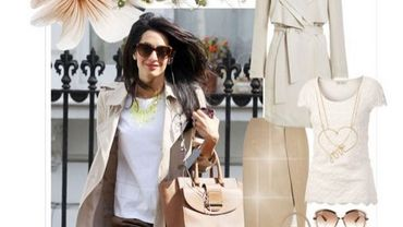 Inspiration : le look Amal Clooney