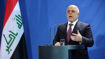 Le Premier ministre irakien Haider al Abadi le 11 février 2016 à Berlin.