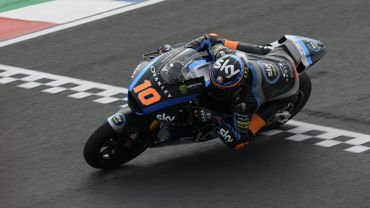 Victoire de Luca Marini en Moto2 en Thaïlande, Alex Marquez 5e