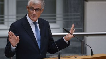 Le ministre-président flamand, Geert Bourgeois