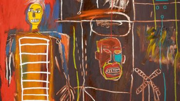 """Air Power"" (1984) de Jean-Michel Basquiat"