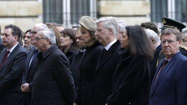 Attentats à Bruxelles: l'hommage politique en direct sur la Place de la Nation