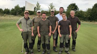 Wanze: les jardiniers du golf de Naxhelet utilisent un maximum de produits biologiques