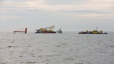 Au large de Zeebrugge, le 6 octobre 2015le pétrolier Al-Oraiq et le bateau cargo Flinterstar étaient également entré en collision en Mer du Nord
