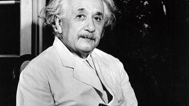 Undated portrait of German-born Swiss-US physicist Albert Einstein (1879-1955)