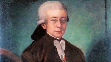 Non signé: Mozart comme «Chevalier de  l'Éperon d'or», 1777.