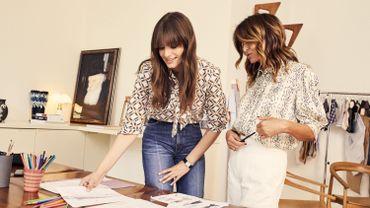 Clara Luciani fait ses premiers pas dans la mode avec Sandro.