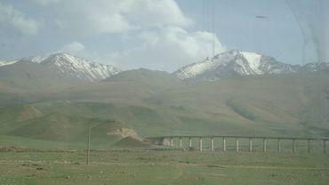 Train Urumqi-Kashgar (Xinjiang), 2008