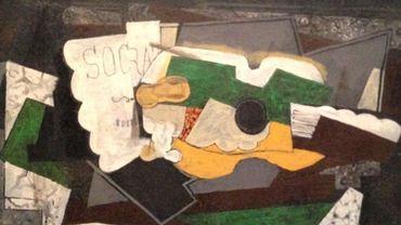 """""""Guitare et verre"""", Georges Braque"""