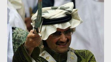 Le saoudien Al-Walid ben Talal le 10 mars 2008 à Riyad