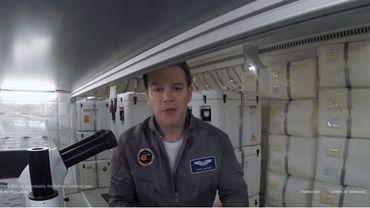 """Matt Damon devient astronaute dans """"The Martian"""", de Ridley Scott"""