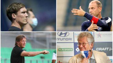 Quatre entraîneurs déjà virés en Pro League