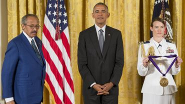 Jack Whitten a reçu la National Medal of Arts le 22 septembre 2016