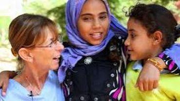 Pour Bernard et Fabienne Baumans, Abu Za' Bal ce sont d'abord des sourires