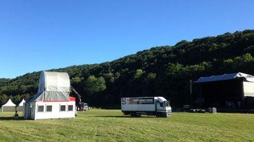 Le festival Scène-sur-Sambre se tient dans un cadre exceptionnel