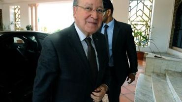 Le leader du parti islamiste Ennahda, Rached Ghannouchi, le 2 novembre 2013 à Tunis