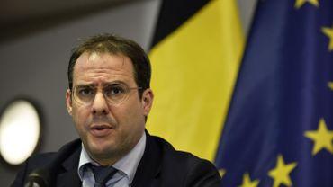 Le ministre David Clarinval