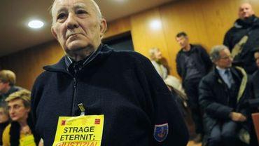 Lors du procès Eternit à Turin, des victimes et proches des victimes de l'amiante étaient venus témoigner