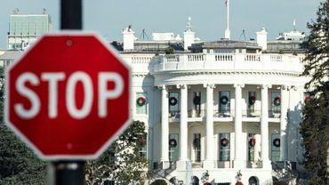Près de la Maison Blanche, le 27 décembre 2018 à Washington