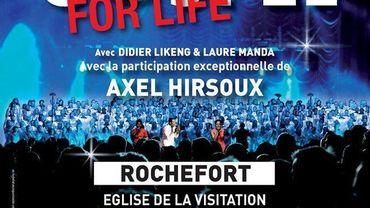 La tournée Gospel For Life aux portes de notre verte province