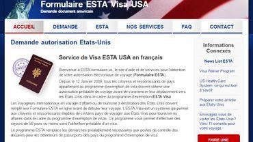 Sur le sitewww.esta-formulaire.us, un prix de 72$ est réclamé à la personne introduisant une demande. Or, le site belge des Affaires étrangères parle lui d'une facturation de 14$ pour chaque demande.