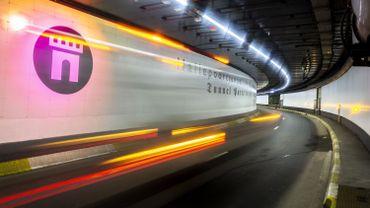 Le tunnel de la Porte de Hal, récemment restauré