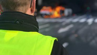 La police bruxelloise s'attend à des embarras de circulation samedi dans le quartier européen où des gilets jaunes envisagent de se réunir à la mi-journée .