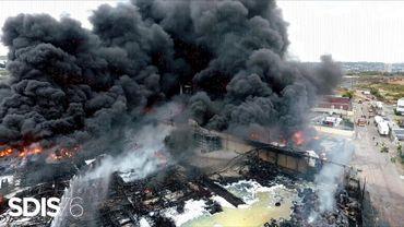 L'incendie de l'usine Lubrizol, le 26 septembre, a fait craindre des retombées nocives sur la Belgique
