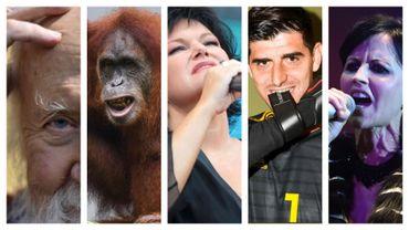 Hubert Reeves, un orang-outan de Bornéo, Maurane, Thibaut Courtois et Dolores O'Riordan ont marqué votre année 2018.