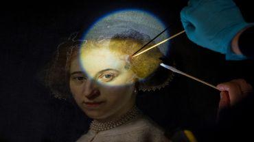 Un double portrait de Rembrandt renové par une équipe franco-néerlandaise