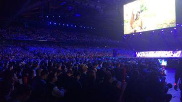 Des milliers de spectateurs ont assisté au championnat du monde de League of Legends