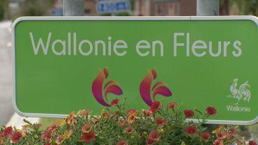 """""""Wallonie en Fleurs"""" - Panneau signalétique"""