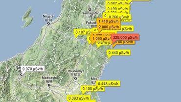 Les mesures de radioactivité prises par la population
