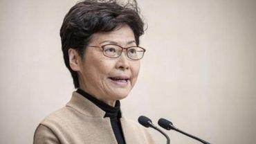 Hong Kong: Pékin affirme soutenir la cheffe de l'exécutif malgré son revers électoral