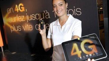Un opérateur lance la 4G en France en juin 2012
