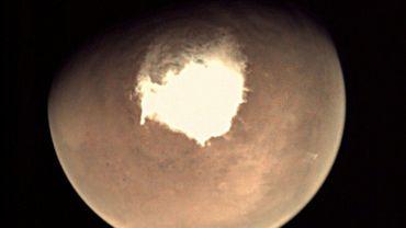 Mars, photographiée le 16 octobre 2016 par la sonde européenne Mars Express