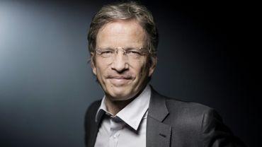 Le PDG de l'Agence France-Presse Fabrice Fries à Paris, le 16 avril 2018