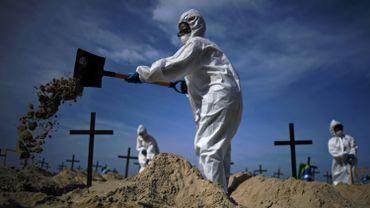 Le Brésil, deuxième pays où le coronavirus tue le plus